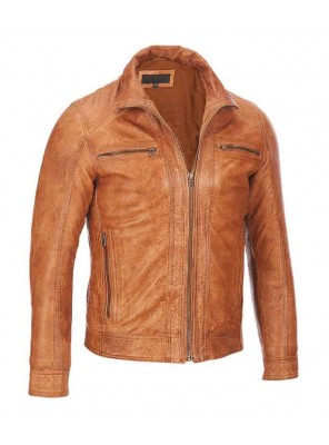Motorbike Leather Jacket